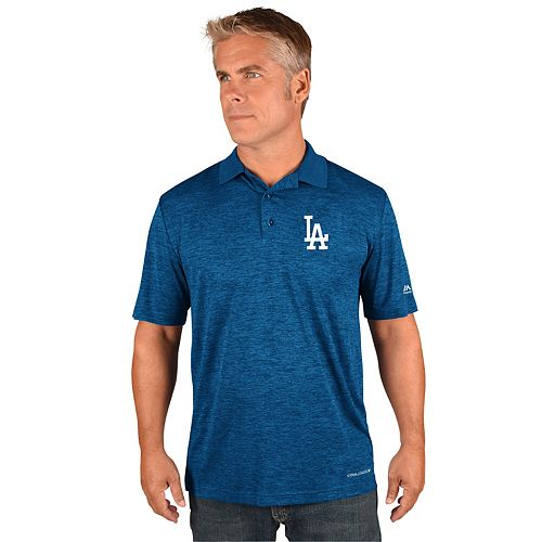 Men's Majestic Los Angeles Dodgers Targeting Polo