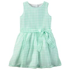 Toddler Girl Carter's Gingham Bow Dress