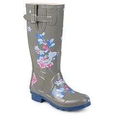 Journee Collection Mist Women's Water Resistant Rain Boots