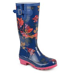 Journee Collection Mist Women's Water Resistant Rain Boots