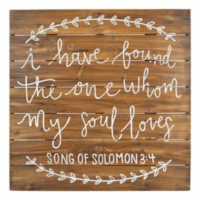 "Sheffield Home ""My Soul Loves"" Wedding Table Decor"
