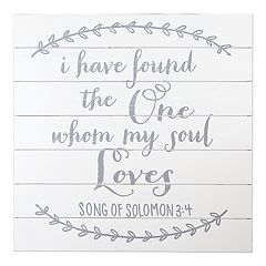 Sheffield Home 'My Soul Loves' Wedding Table Decor