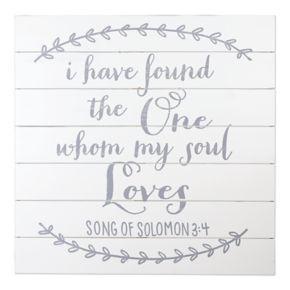 "Sheffield Home ""My Soul Loves"" Wedding Table Decor"