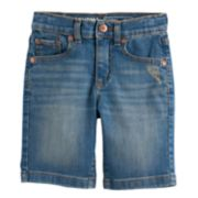 Boys 4-7x SONOMA Goods for Life? Light Wash Denim Shorts