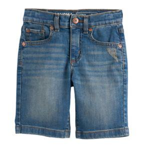 Boys 4-7x SONOMA Goods for Life? Light Wash Denim Shorts