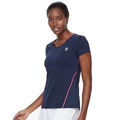 Women's FILA SPORT® Mesh Short Sleeve Tee