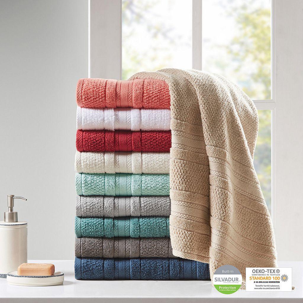 Madison Park Essentials 6-piece Remy Super Soft Bath Towel Set
