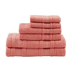 Madison Park Essentials 6 pc Remy Super Soft Bath Towel Set