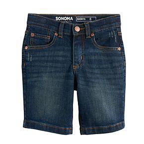 Boys 4-7x SONOMA Goods for Life? Dark Wash Denim Shorts