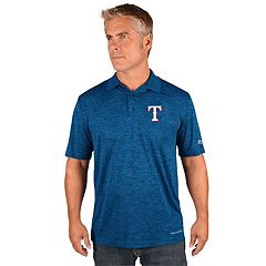 Men's Majestic Texas Rangers Targeting Polo