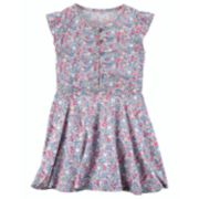 Toddler Girl Carter's Floral Poplin Dress