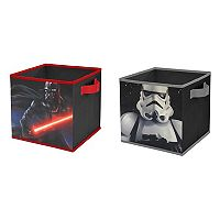 Star Wars Dark Side 2-pack Storage Cubes