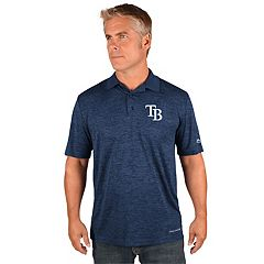 Men's Majestic Tampa Bay Rays Targeting Polo