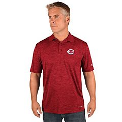 Men's Majestic Cincinnati Reds Targeting Polo