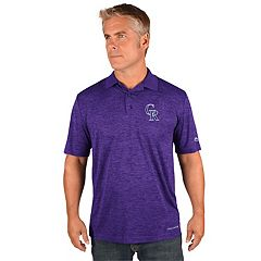 Men's Majestic Colorado Rockies Targeting Polo