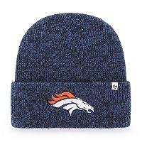 Adult '47 Brand Denver Broncos Brain Freeze Knit Hat
