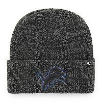 Adult '47 Brand Detroit Lions Brain Freeze Knit Hat