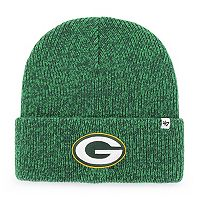 Adult '47 Brand Green Bay Packers Brain Freeze Knit Hat