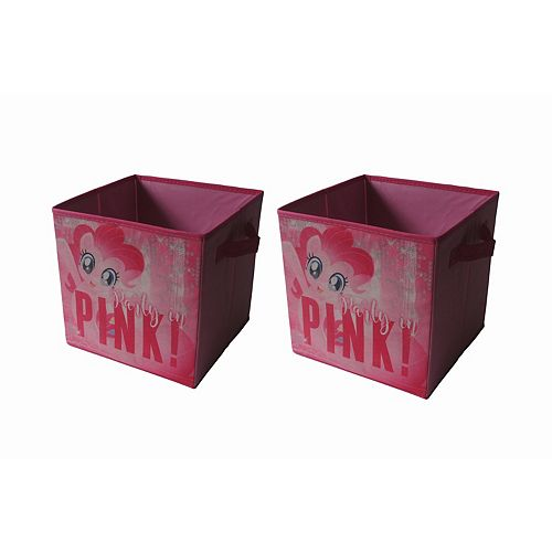 My Little Pony: The Movie Pinkie Pie 2-pack Storage Cubes