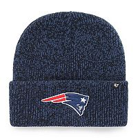 Adult '47 Brand New England Patriots Brain Freeze Knit Hat