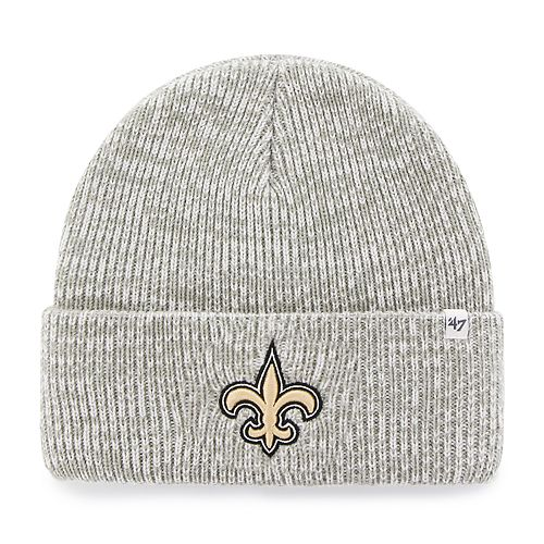 1cd902ea0e14a Adult  47 Brand New Orleans Saints Brain Freeze Knit Beanie