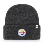 Adult '47 Brand Pittsburgh Steelers Brain Freeze Knit Hat
