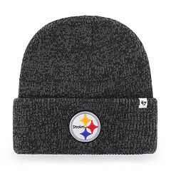 84a503c8f4e Adult  47 Brand Pittsburgh Steelers Brain Freeze Knit Hat