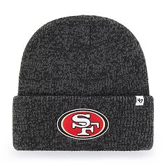 Adult '47 Brand San Francisco 49ers Brain Freeze Knit Hat