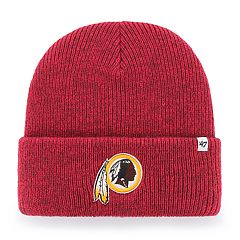 Adult '47 Brand Washington Redskins Brain Freeze Knit Hat