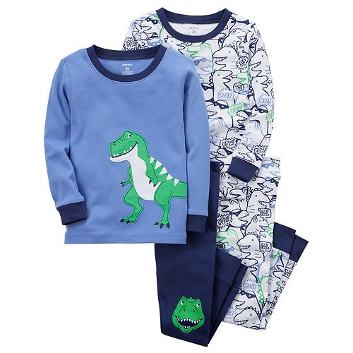 29d70ae22271 Baby Boy Carter s 4-pc. Dinosaur Pajamas Set
