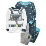 "Baby Boy Carter's 4-pc. Space ""Blast Off"" Tops & Pants Pajama Set"