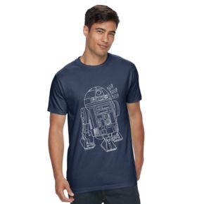 Men's Star Wars R2D2 Tee