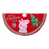 Peppa Pig Christmas Tree Skirt by Kurt Adler