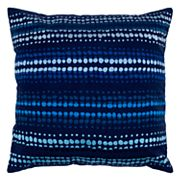 Anna Redmond By Rizzy Home Dotted Stripe Throw Pillow