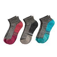 Girls 7-16 Free Country Quarter Socks