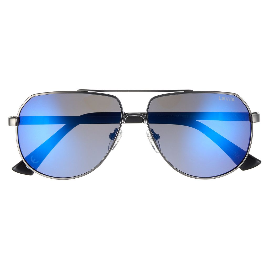 Men's Levi's® Polar Small Aviator Sunglasses