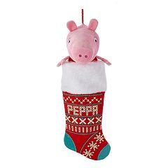 Peppa Pig Christmas Stocking by Kurt Adler