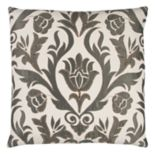 Doh By Rizzy Home Floral Throw Pillow
