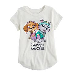 Girls 4-10 Jumping Beans® Paw Patrol Sky & Everest Graphic Tee