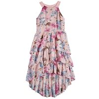 Girls 7-16 My Tiered Ruffle High-Low Dress