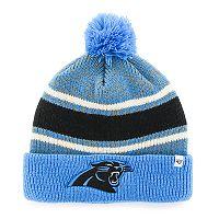 Adult '47 Brand Carolina Panthers Cuffed Knit Beanie