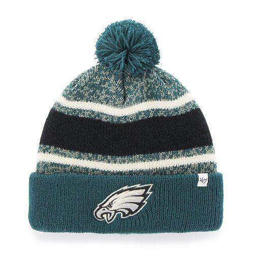 Adult  47 Brand Philadelphia Eagles Cuffed Knit Beanie 735fcd99b