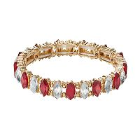 LC Lauren Conrad Marquise Stone Stretch Bracelet