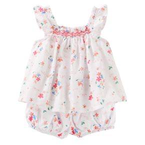 Baby Girl OshKosh B'gosh® Floral Top with Bloomers