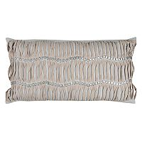 Doh By Rizzy Home Vertical Deconstructed Stripe Oblong Throw Pillow