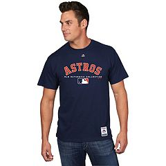 Men's Majestic Houston Astros Team Drive Tee