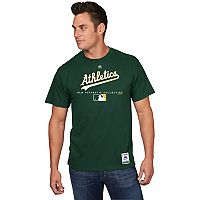 Men's Majestic Oakland Athletics Team Drive Tee