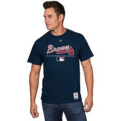 Men's Majestic Atlanta Braves Team Drive Tee
