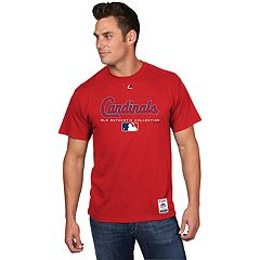 Men's Majestic St. Louis Cardinals Team Drive Tee