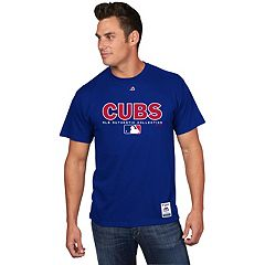 Men's Majestic Chicago Cubs Team Drive Tee